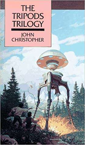 The cover for Day of the Tripods by John Chistopher