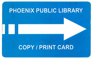 Phoenix Public Library - Copy and Print Card