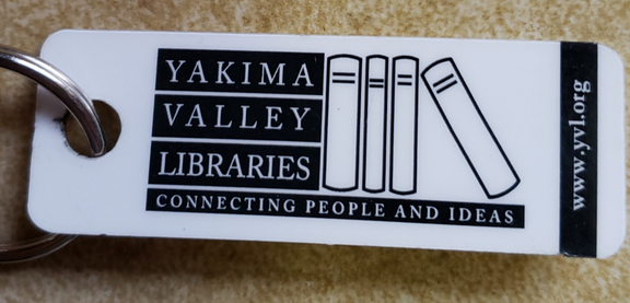 Yakima Valley Libraries - Keytag